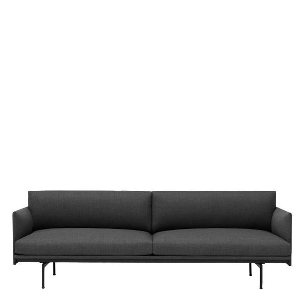 Muuto Outline Sofa 3-Sitzer